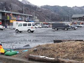 大槌町の仮設商店街
